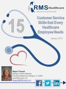 Healthcare Service Skills