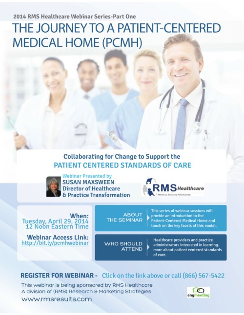 RMS Healthcare Webinar April 29 2014 at 12 PM EDT