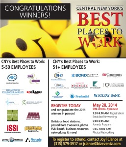 Best Places to Work Survey Example