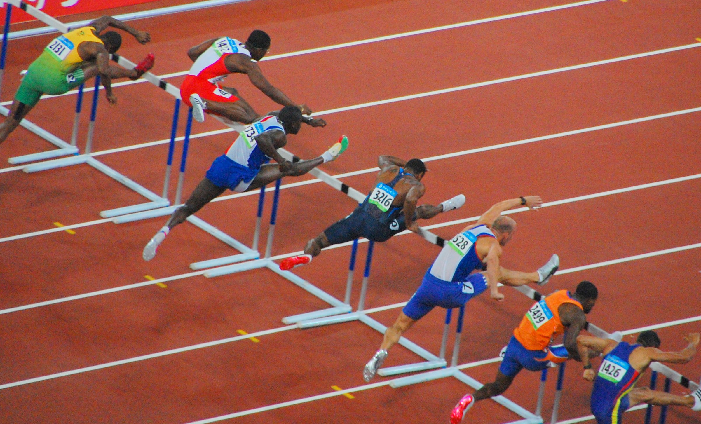 olympic hurdler moses - HD2402×1453