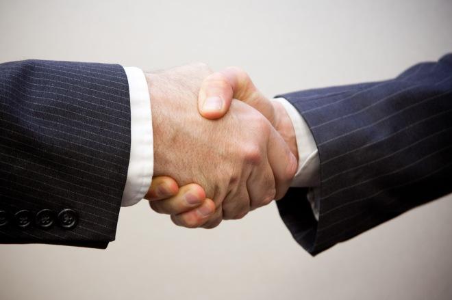 B2B Handshake